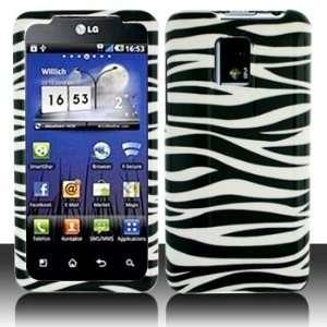 LG G2x Opimus 2x Black Whie Zebra Case Cover Proecor