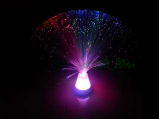 ~ color changing fiber optic lamp~ party Fairy Christmas decor light