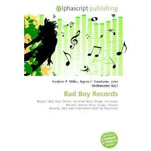 Bad Boy Records (9786132744135) Books