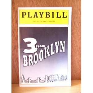 3 from Brooklyn   Playbill, The Helen Hayes Theatre, New