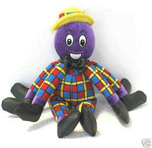 The Wiggles Henry The Octopus plush doll 8 1/2h