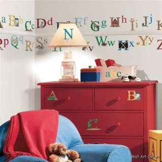 73 Education ABC Alphabet Kids Room Wall Sticker Decals