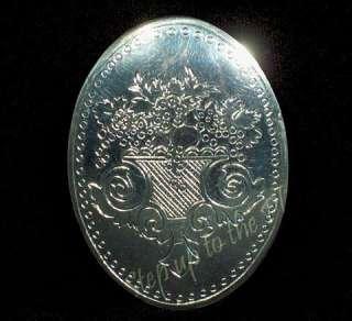 Lenox China AUTUMN Jewelry Brooch Pin Kirk Stieff Pewter MIB