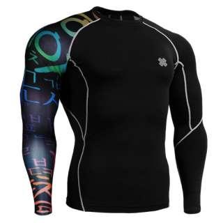 training Compression skin Shirt gear tight mens cp b3
