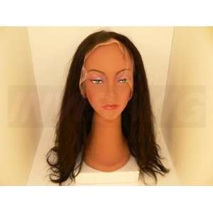 Full Lace Wig length 22, Color 1b, Texture Body Wave