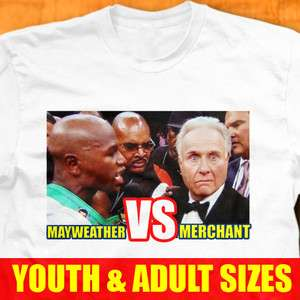 Jr VS Larry Merchant T Shirt Victor Ortiz Fight Funny Boxing