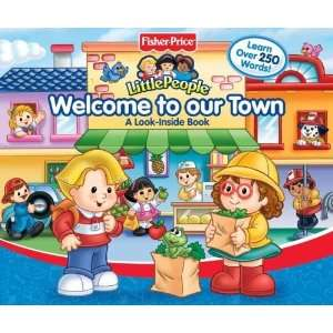 Fisher Price Little People Welcome To Our Town Big Flap