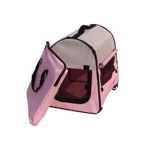 BestPet Pink Pet Soft Crate Dog Cage Carrier