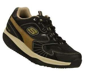 SKECHERS Shoes Black Mens Shape Ups Sport Walk Training