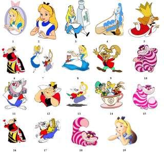 Alice in Wonderland Return Address Labels Favors Tags