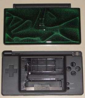 Nintendo DS Lite Full Cover Housing Shell Case 3D Green