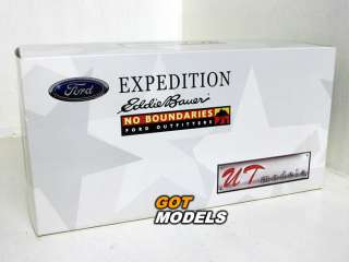 FORD EXPEDITION EDDIE BAUER   1/18 UT MODELS SILV 22714