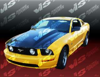 05 UP FORD MUSTANG COWL INDUCTION 2 CARBON FIBER HOOD