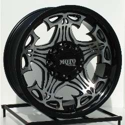20 inch Black Wheels/Rims Chevy Dodge Ram 2500 HD 8 Lug