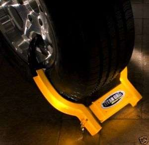 TITAN GRIP WHEEL TIRE LOCK SECURITY BOOT TOW TRUCK SUV