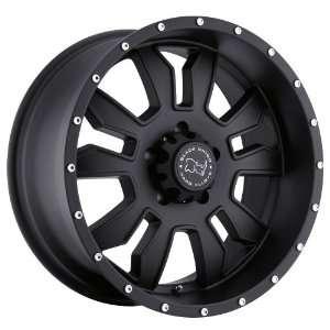 17x9 Black Rhino Keyhole (Matte Black) Wheels/Rims 6x135