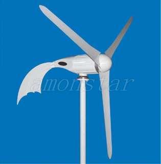 New 600W Watt 24V Wind Turbine Generator System 3 BLADE