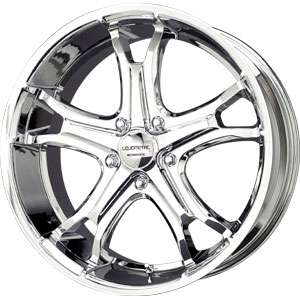 New 20X9 5 115 Liquid Metal Coil 5 Spoke Chrome Wheels/Rims