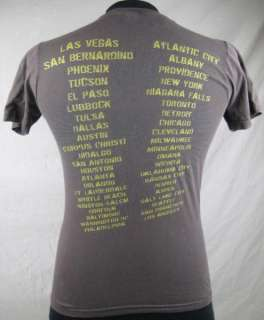 Alice In Chains Mens Tour T shirt Small Brown Winged Eye Pyramid Rock