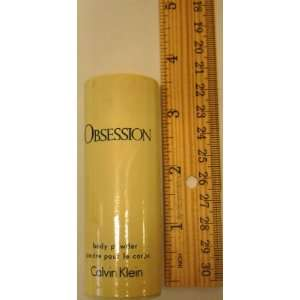 Obsession Body Powder for Women Travel Size 0.75 Oz Unboxed By Calvin