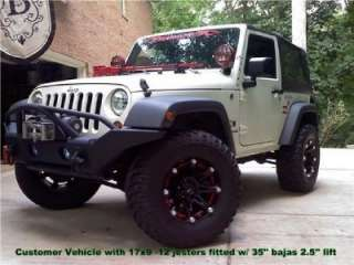Ballistic Jester black wheels rims 5x5 5x127 Jeep Wrangler IN STOCK