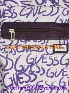 GUESS Handbag BobCat satchel bag purse fashion tags NEW