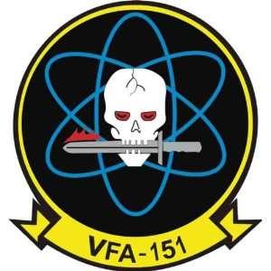 US Navy VFA 151 Vigilantes Squadron Decal Sticker 3.8