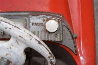 Vintage MURRAY Radio Sports Car Pedal Car ORIGINAL
