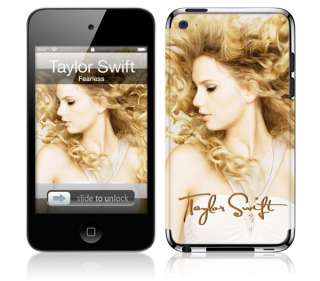 MusicSkins Taylor Swift/Fearless skin for iPod touch 4th gen