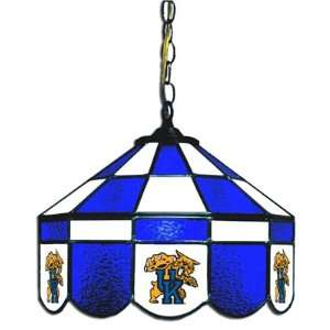Kentucky Wildcats 14 Executive Stained Glass Hanging Lamp