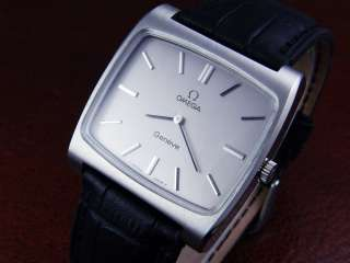 OMEGA Geneve SS Manual Winding Gray Dial Cal.625