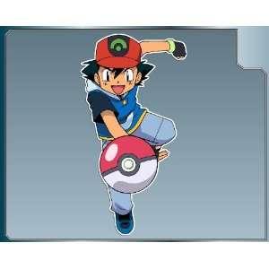 ASH KETCHUM from Pokemon vinyl decal sticker No. 1 6