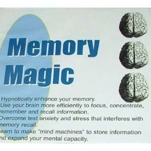 Memory Magic 4CD Set (9781929058457): Wendi Friesen: Books