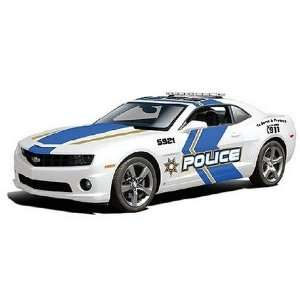 Maisto 1/24 Scale Diecast 2010 Chevrolet Camaro Rs Police Car in Color