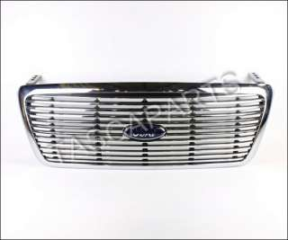 NEW OEM BILLET CHROME GRILLE FORD F 150 2004 2008 #7L3Z 8200 AB |