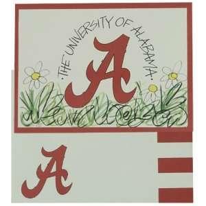 Set of University of Alabama Crimson Tide Note Cards   NCAA Team