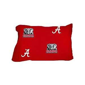 Alabama Crimson Tide Solid Pillow Cases from College