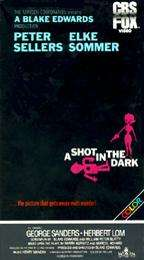Shot in the Dark (VHS) Elke Sommer, Peter Sellers