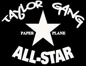 Taylor Gang All Star T Shirt Wiz Khalifa Paper Plane