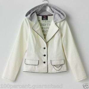 NWT Abbey Dawn Avril Lavigne Jacket Hoodie Top S M L XL