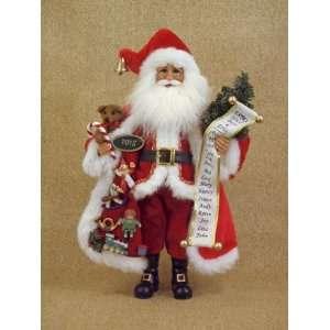 Christmas Santa Claus by Karen Didion originals Extra good