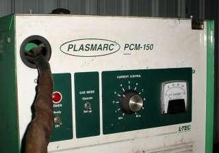 EASB L TEC Plasmarc PCM 150 Plasma Cutter Arc Welder Welding