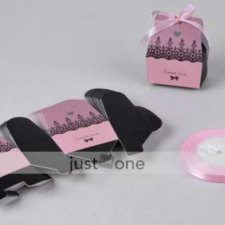 100 Sweety Love Wedding Party Favors Candy Boxes Gifts