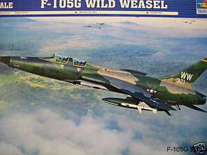 REPUBLIC F 105 G WILD WEASEL (BIPOSTO)  TRUMPETER 1/72