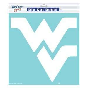West Virginia Mountaineers WVU NCAA Die Cut Decal 8 X 8