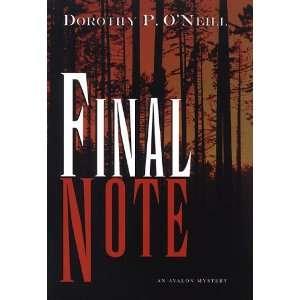 Avalon Mystery) Dorothy P. ONeill 9780803497399  Books