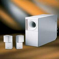 BOSE ACOUSTIMASS 5 SERIES III SPEAKER SYSTEM NEW WHITE 017817234191
