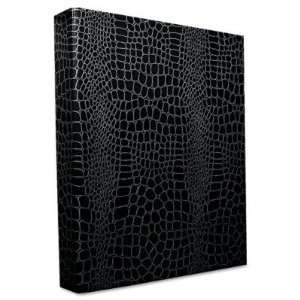 ProFormance Crocodile Embossed Ring Binder   1 Capacity, Black(sold in