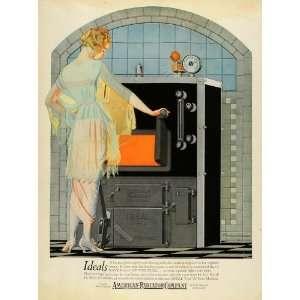 Ad American Radiator Co Fuel Heating Machine Heater Machinery Fuel