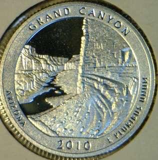 PROOF ABT Parks Grand Canyon George Washington Quarter DCAM